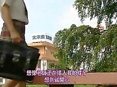 Asian model has hot public sex part4