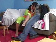 Kleiner Reiher Connie nehmen Hahn