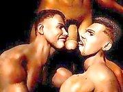 3 boyutlu gelişmiş kaslı Gay Boys Fantastik !