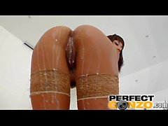 Ass Traffic Squirting show by Shani as her ass is pounded