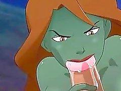 Young Justice Pornografie Wüsten Wärme für Megan