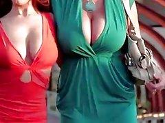 PORNFIDELITY Angela White et Kelly Madison se font prendre en quatre éjaculations!