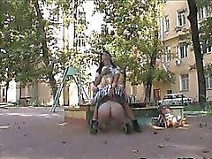 Amateur Russian Exhibitionists