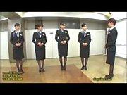 Just fun: japanese stewardess training 3/15