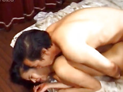 Japanese AV Model can't live without having her cunt drilled hard