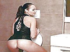 Sexy Czech erotic model Jennifer Max has a ho