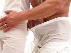 MormonBoyz - Teen Gets Barebacked By Hung Muscle Daddy