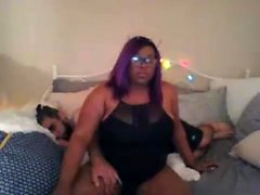 Huge bbw ebony interracial ficken