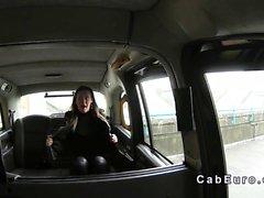 British любители глубокой глотки по поддельный на такси