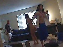Spycam gevangen lesbiennes