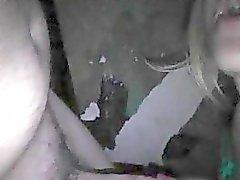 Blonde vaimonsa gloryhole