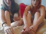 2 Little Ladies Massage with Oil and play Never Have I Ever