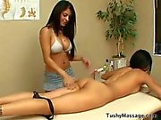 Anal Bead Massage