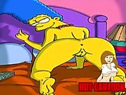 Cartoon Porn Simpsons Porn Marge Masturbate