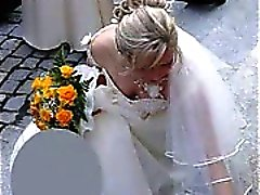 Real Heta i Brides Upskirts !