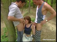 Margot, Threesome on the Grass