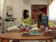Japon Genç Handjob verir