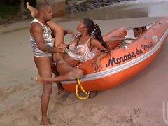 Arschfick auf den Strand mit von Emanuelle Diniz