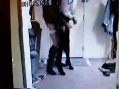 skinn litet kjol från dörren
