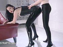 Gran película de juguetes fetish girl4girl