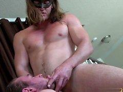 Cumshot ile büyük dick oğlu anal seks