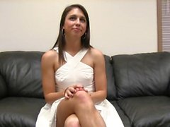 Audrina takes a seat on the casting couch