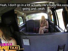 Weibliche Fake Taxi Orgasmen für busty Waliser Tattooed Milf