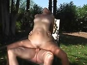 Outdoor cougar Larisa from 1fuckdatecom