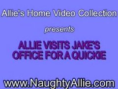 Naughty Allie - Office