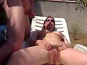 Amateur Paare in the Garden