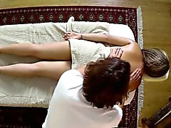 Poor women banged hard in special masseur