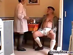 Horny Grandma And Grandpa
