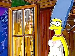 Los Simpson Hentai Cabin el amor