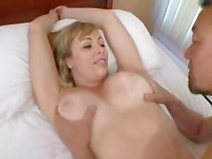 AMWF Milf Adrianna Nicole interracial with Asian guy