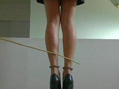 Gepeitscht sexy Beine