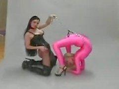 Flexible лесбиянка фетишистов