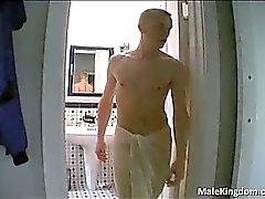Homosexuales asqueroso está andhe medio desnudos está masturbando