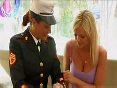 Michelle Lay Can't Get Enough Of Bree Olson