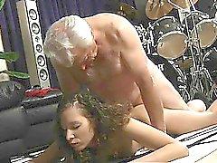 Opa Arschloch entspannen geil Stephanie