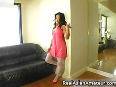 Echt Echt asian Amateur Fig. Strumpfhosen Teil 3