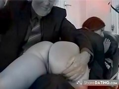MR OLD MAN teach discipline bad slut