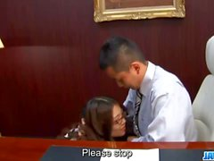 Subtitles Ibuki Japanese secretary fucked in o