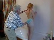 dad with hairy teen