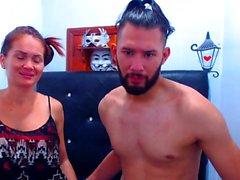 Molto caldo e maturo Thai ama prendere in giro in webcam