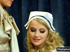 enfermeira urina e ejaculação quente