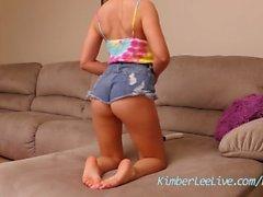 Teen Mädchen Masturbieren Füße