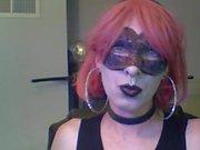 Горячие танцы Goth CD Cam Show (часть 1 из 2)