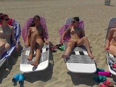 GF Revenge - Four perfect lil beach babes