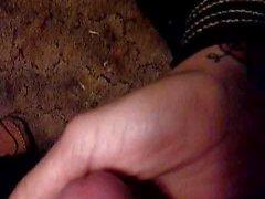 Cum in Cheri's hand 2