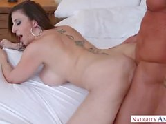 Mature MILF Sara Jay Pretty Step Mom loves Her Pussy Pounded